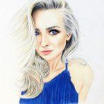 Farbporträt vom Foto